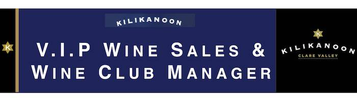 V.I.P Wine Sales / Wine Club Management - Kilikanoon