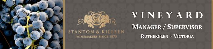 Vineyard Manager / Vineyard Supervisor - Stanton and Killeen Wines