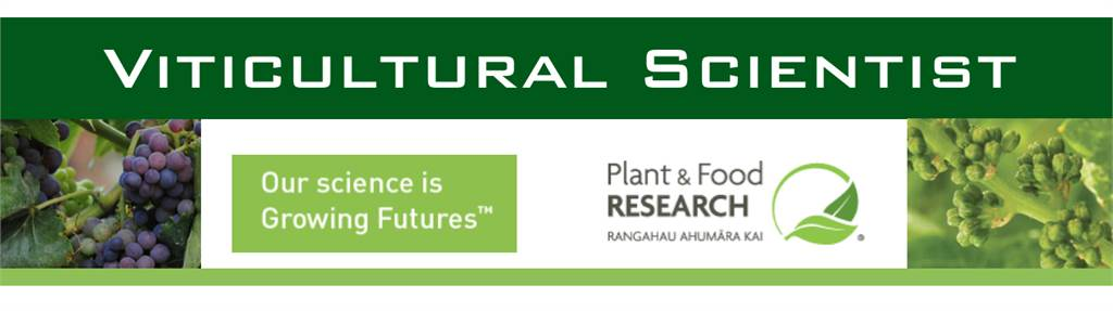 Viticultural Scientist - Plant & Food Research