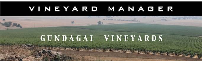 Vineyard Manager - Gundagai Vineyards