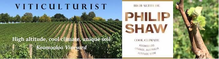 Viticulturist - Philip Shaw Wines