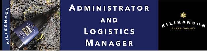 Administrator and Logistics Manager - Kilikanoon