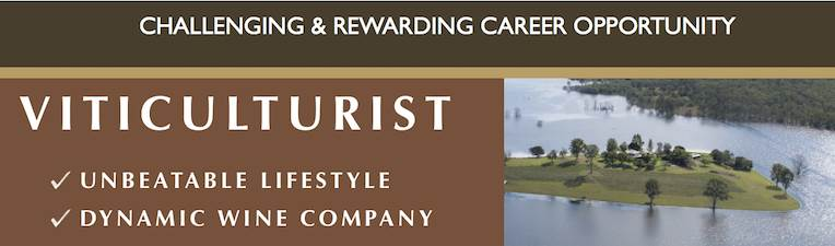 Viticulturist - A Dream Opportunity including Unbeatable Lifestyle