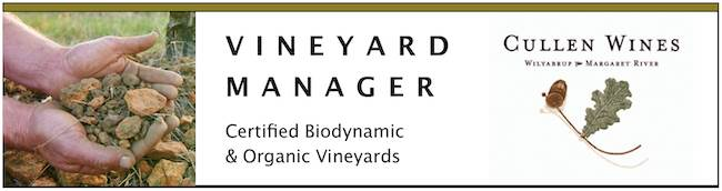 Vineyard Manager - Cullen Wines