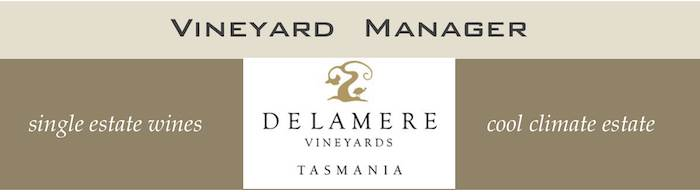 Vineyard Manager - Delamere Vineyards Tasmania