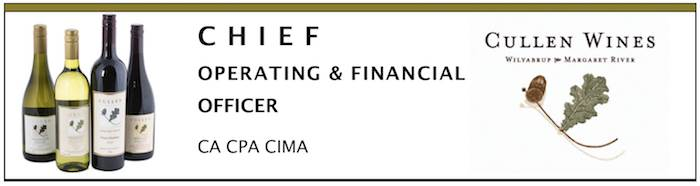 Chief Operating and Financial Officer - Cullen Wines