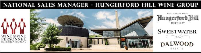 National Sales Manager - Hungerford Hill Wine Group